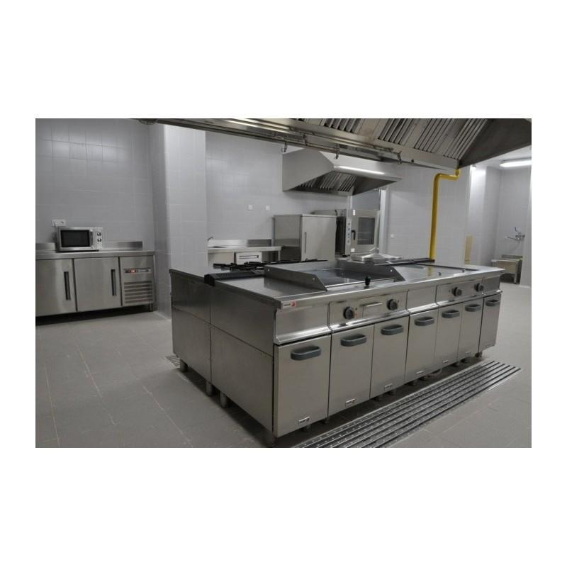 Cocina industrial en isla remolques tarragona - Cocinas de segunda mano malaga ...