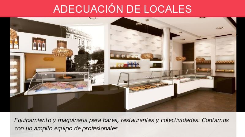Adecuación de locales