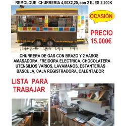 remolque churreria 4,0Mtrs ref:MAG