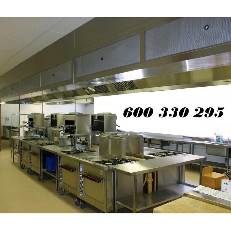 Cocina industrial hotel remolques tarragona remolques for Accesorios cocina industrial
