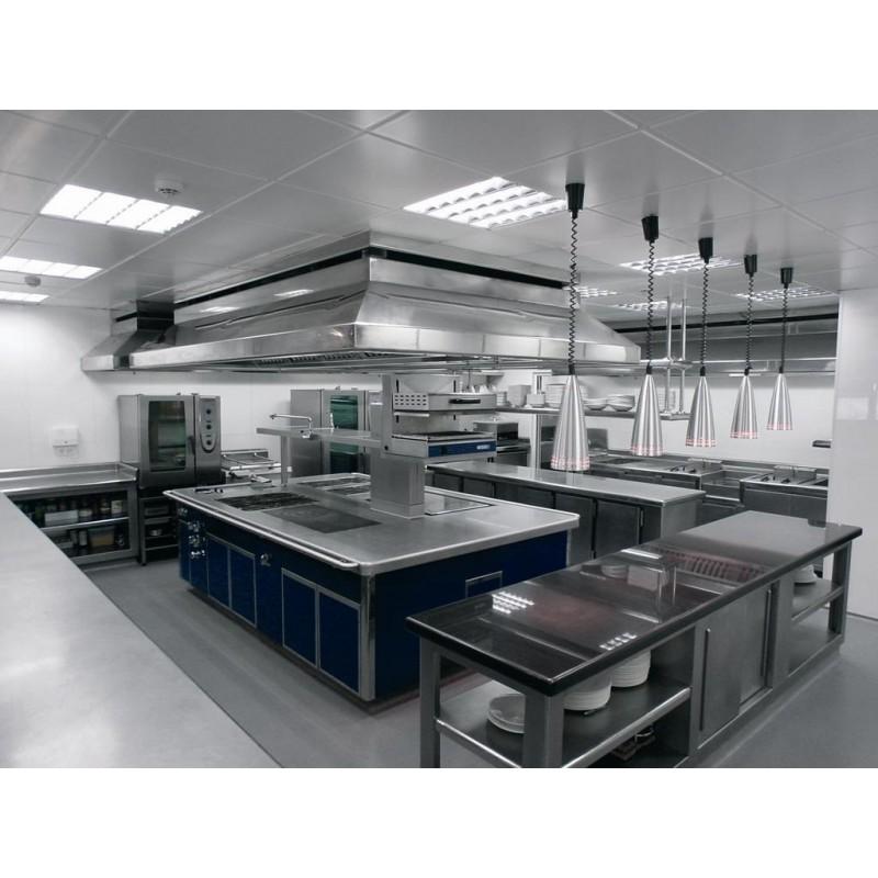 Cocina industrial en isla remolques tarragona for Todo para cocinas industriales