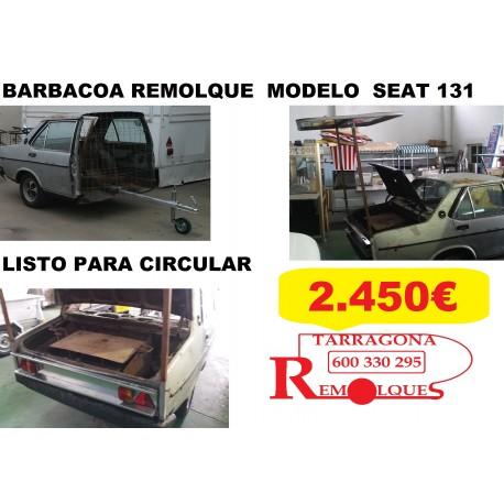 REMOLQUE BARBACOA Ref. 131