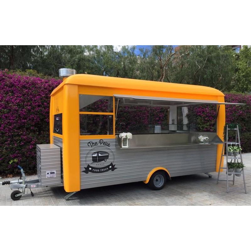 Food truck profesionales venta ambulante o feriantes. Pollos ...