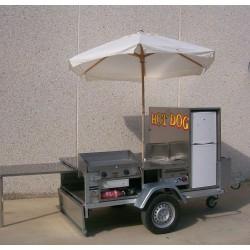 Remolque Carrito Hot Dog CA-14