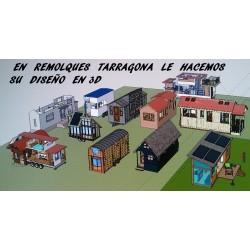 mini casa diseño 3D