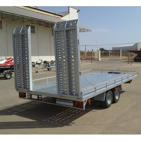 Remolque plataforma porta vehículos (MO-14)
