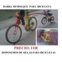 Barra remolque bicicleta infantil