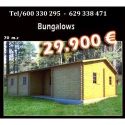Mobil-home 20 bungalows-70-m2