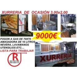 Remolque Churreria 3m Ref JM