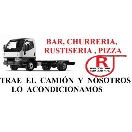 Camiones para carrozar