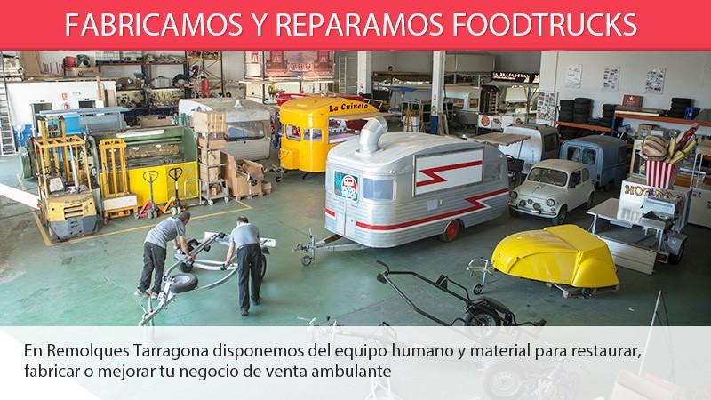 Reparamos y fabricamos foodtrucks