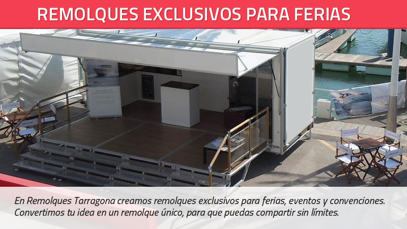 Remolques exclusivos para ferias